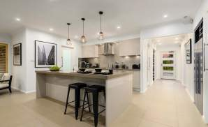 Kitchen, Santorini Display Home, Homeworld 5, Kellyville - McDonald Jones