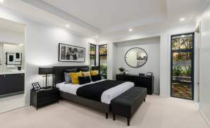 Master Suite - Seaview Display Home at Billy's Lookout - McDonald Jones