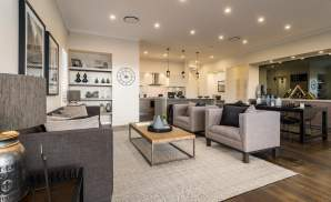 Living, Dining, Kitchen - Vienna - Oran Park - McDonald Jones