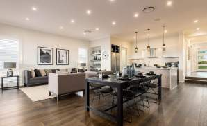 Dining, Living, Kitchen - Vienna - Oran Park - McDonald Jones