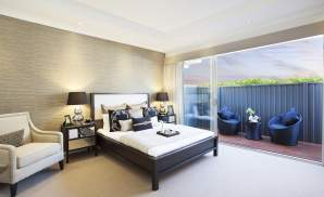 Master Bedroom - Seaside Retreat Display Home - Willowdale - McDonald Jones