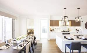 Kitchen & Dining - Seaside Retreat Display Home - Willowdale - McDonald Jones