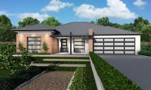Villa Facade - Monarch Home Design - Canberra - McDonald Jones