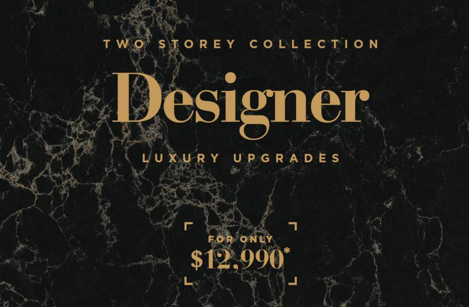 Designer Luxury Upgrade Cover