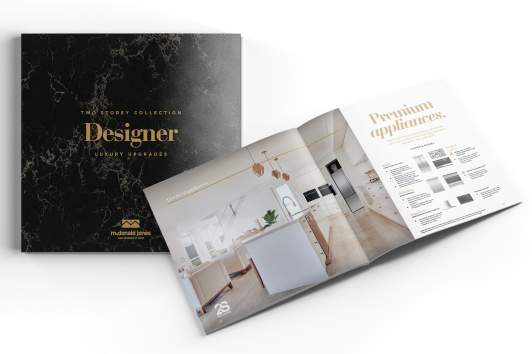 Designer Two Storey Luxury Upgrade brochure