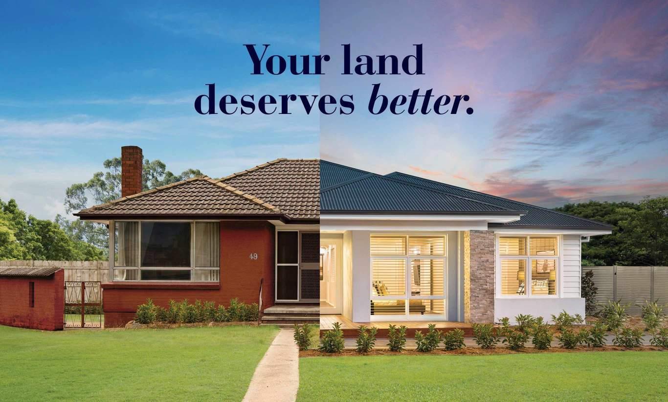 Knock Down Rebuild - Your Land Deserves Better | McDonald Jones Homes