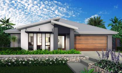 Geneva Facade - Coolum House Design - McDonald Jones Homes