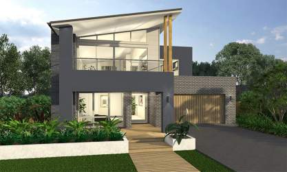 Massena Two Storey Home Design