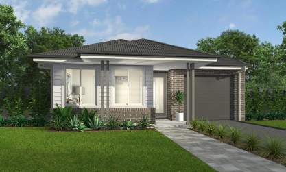 Chifley Facade - Camelle Home Design - McDonald Jones