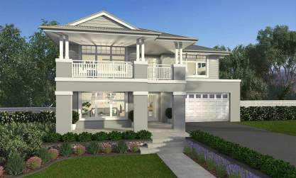 Saxonvale- Hampton C Facade- McDonald Jones
