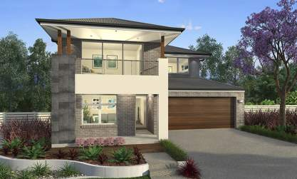 Apollo Facade - Aberdeen Two Storey Home - McDonald Jones