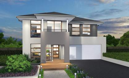 Zenith Facade - Augusta Two Storey Home - McDonald Jones