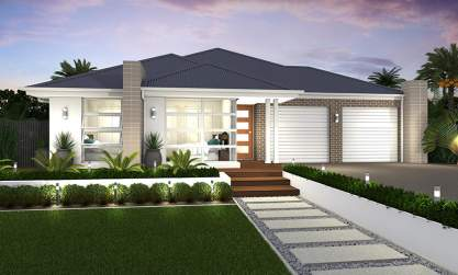 Duo 3 - Dual Living Home Design - Seville Facade - McDonald Jones