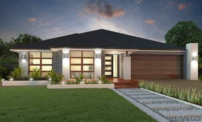 Executive Facade - Aristocrat Home Design - Canberra - McDonald Jones