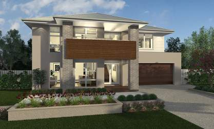 Two Storey Double Level Home Designs Mcdonald Jones Homes